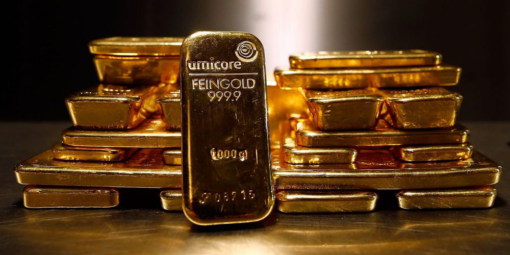 """Giá vàng hôm nay 4/10 """"mắc kẹt"""" quanh mốc 1.900 USD/ounce - Ảnh 1."""