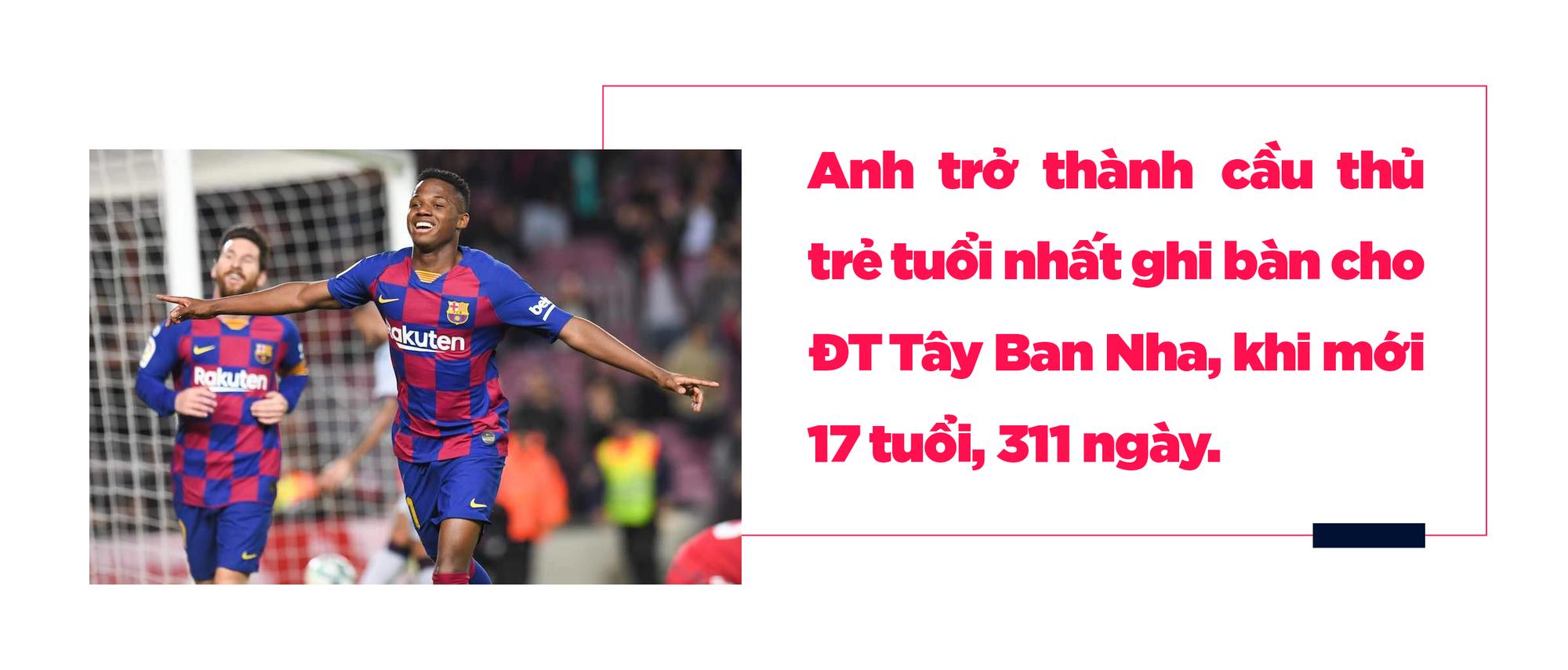 Ansu Fati: Từ giấc mơ Chapi đến ước vọng về một Messi đệ nhị của người Catalonia - Ảnh 8.