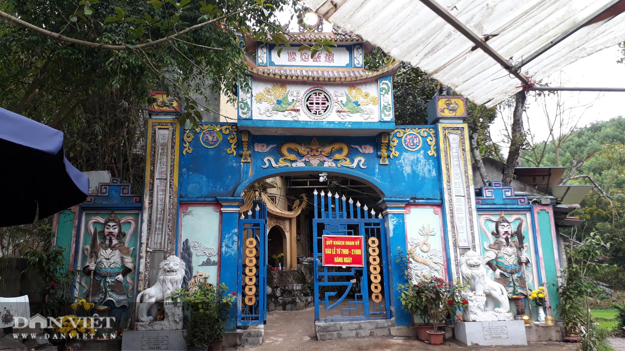 Thái Nguyên: UBND huyện yêu cầu hộ lấn chiếm trả lại đất đền Đá Thiên - Ảnh 1.