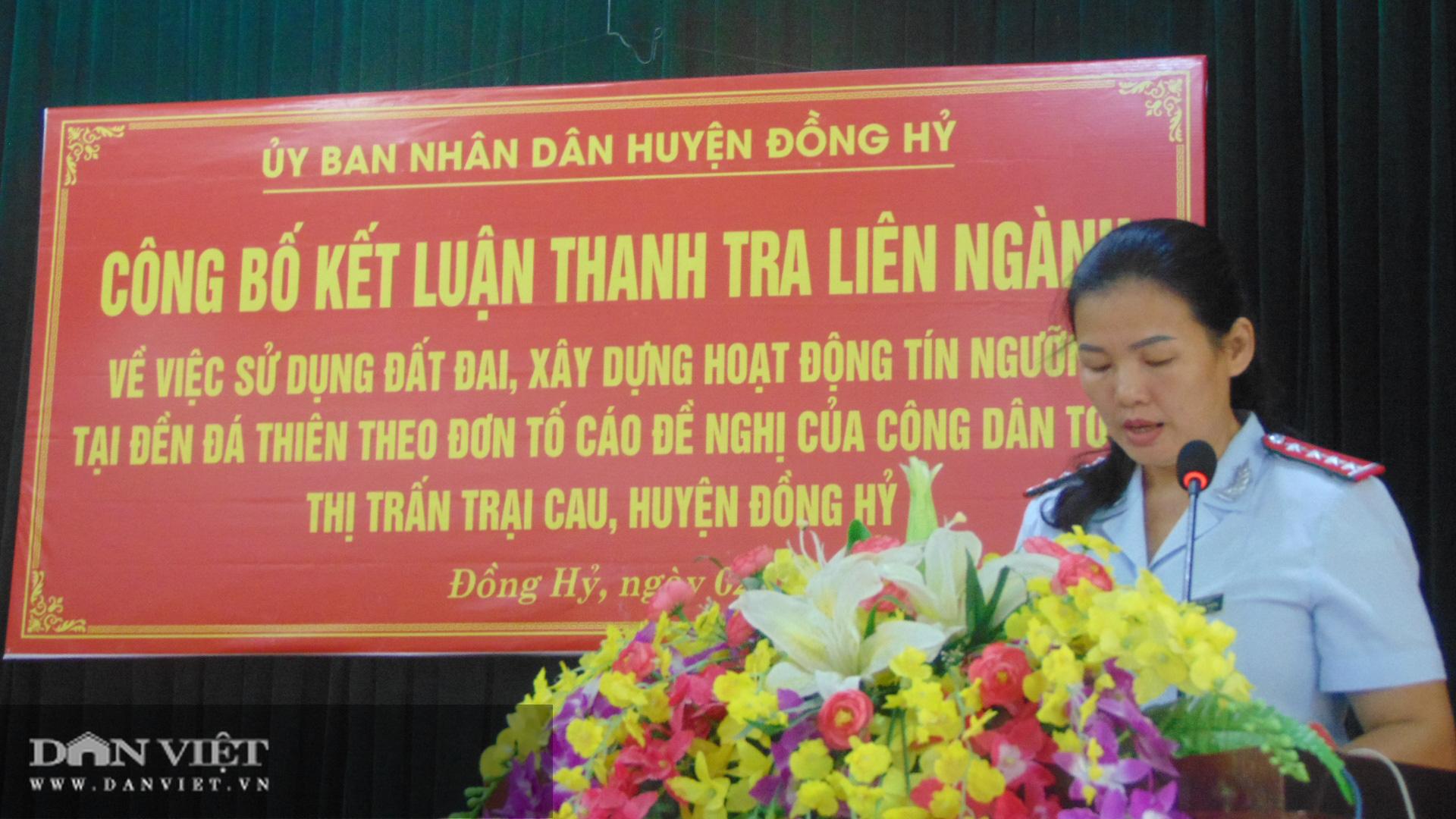 Thái Nguyên: UBND huyện yêu cầu hộ lấn chiếm trả lại đất đền Đá Thiên - Ảnh 3.