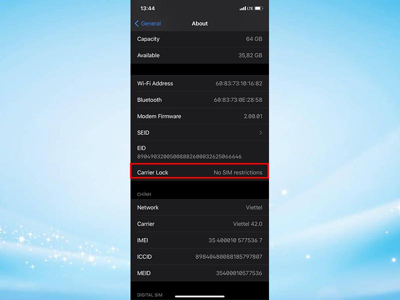 Hướng dẫn kiểm tra iPhone Lock với tính năng mới trên iOS 14 - Ảnh 2.