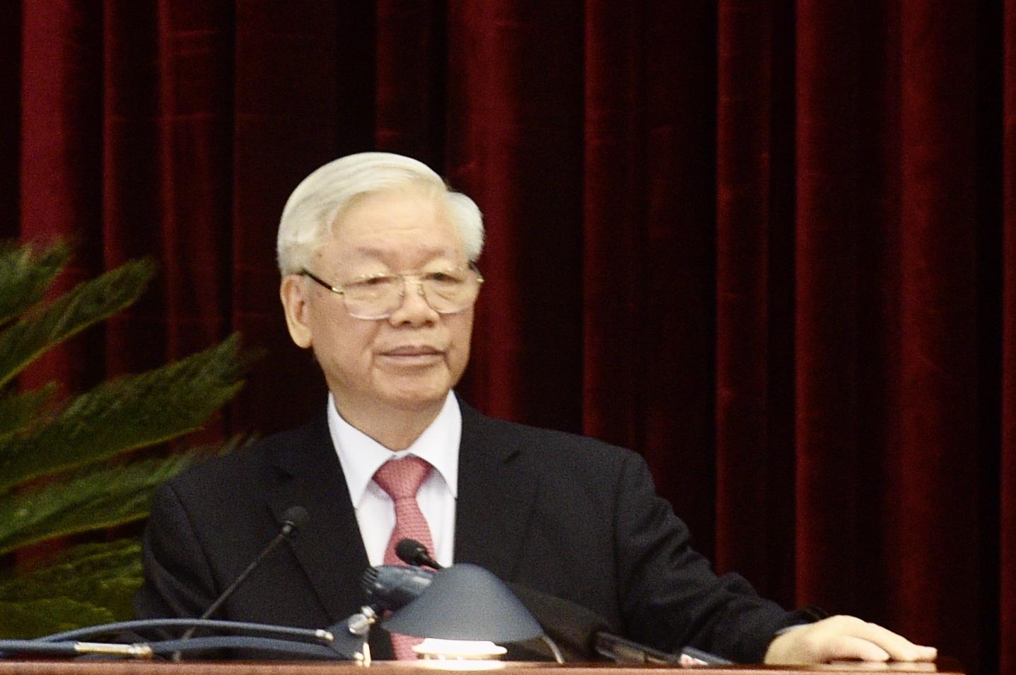 Tổng Bí thư, Chủ tịch nước: Nhân sự Trung ương khóa XIII không vì cơ cấu, số lượng mà hạ thấp tiêu chuẩn - Ảnh 1.