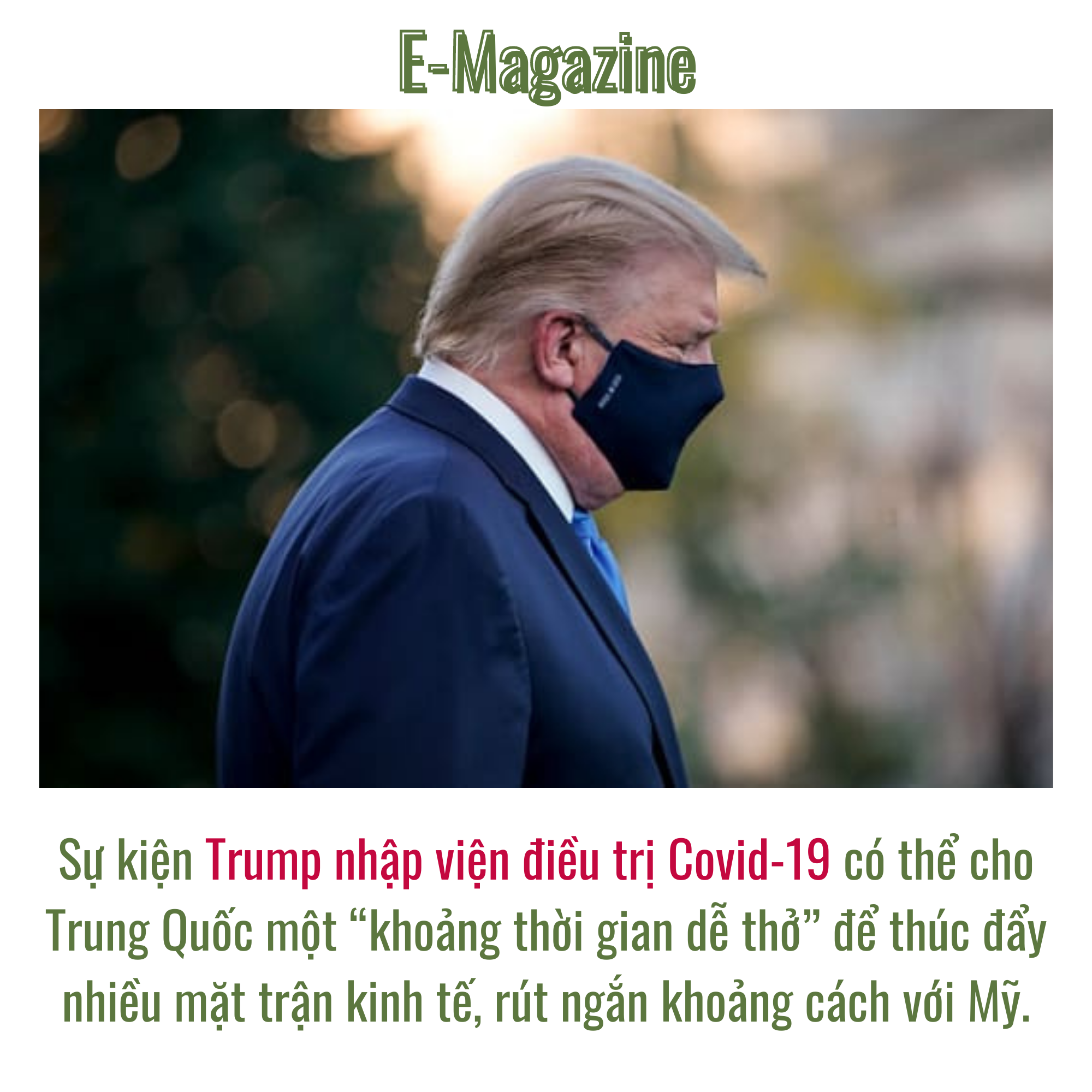 TT Trump nhiễm Covid-19: cử tri quay lưng, Trung Quốc ăn mừng và nỗi buồn của kinh tế Mỹ - Ảnh 6.