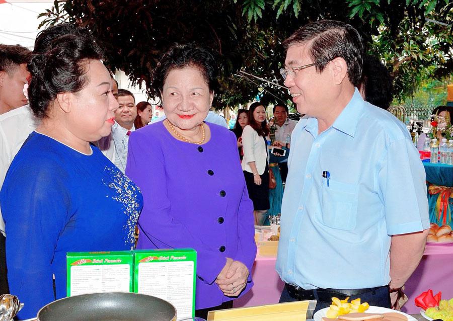 """Bà Huỳnh Kim Chi - Chủ tịch HĐQT Cty Liên doanh Bột Quốc tế Intermix: """"Đưa ẩm thực truyền thống Việt ra thế giới"""" - Ảnh 2."""