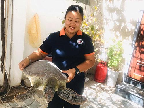 """Bình Thuận: """"Nàng Lưu Yến Phi"""" ở đảo Hòn Cau nín thở hồi hộp rồi vỡ òa hạnh phúc khi thấy điều này - Ảnh 2."""