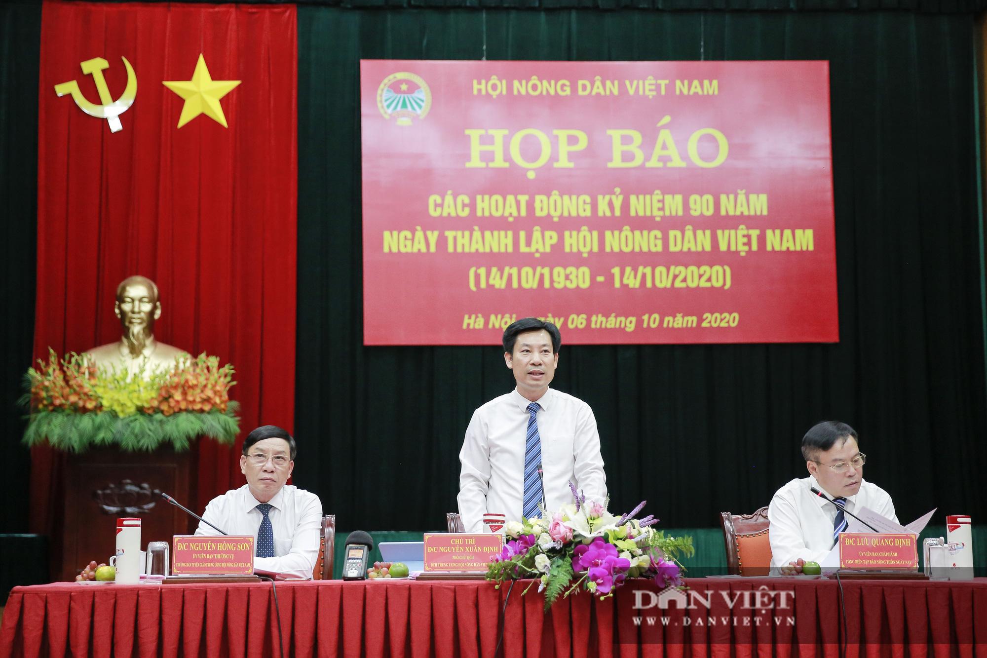Toàn cảnh Họp báo kỷ niệm 90 năm Ngày thành lập Hội Nông dân Việt Nam - Ảnh 12.