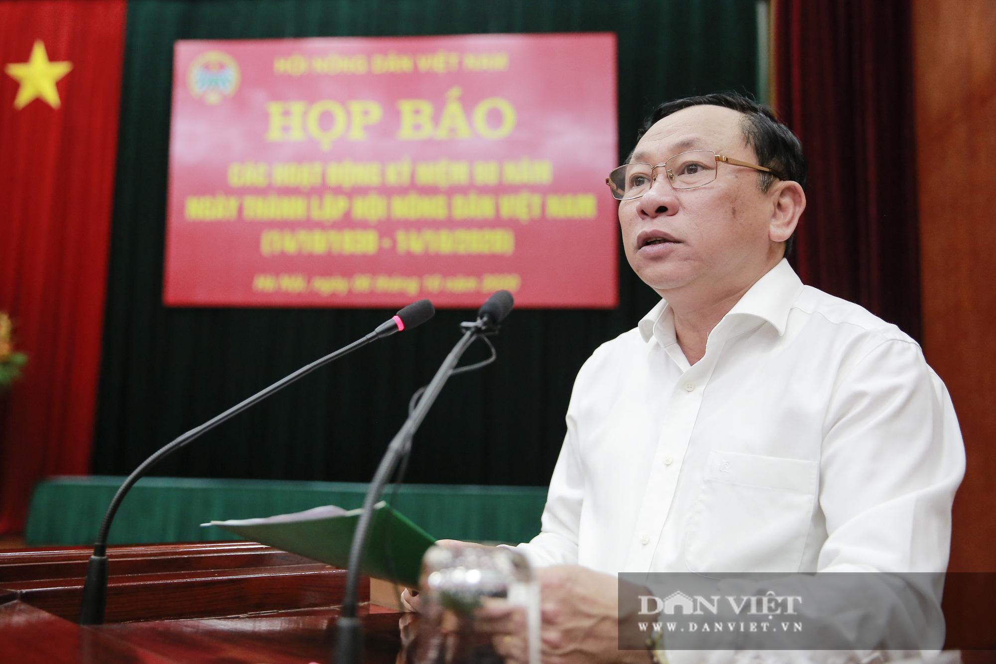 Toàn cảnh Họp báo kỷ niệm 90 năm Ngày thành lập Hội Nông dân Việt Nam - Ảnh 2.