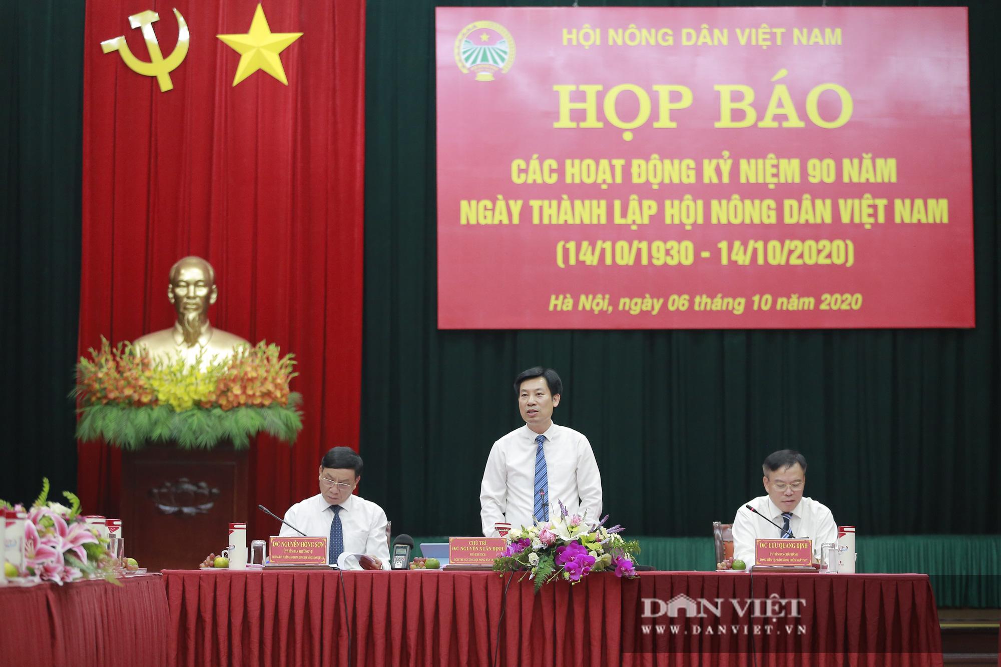 Toàn cảnh Họp báo kỷ niệm 90 năm Ngày thành lập Hội Nông dân Việt Nam - Ảnh 3.