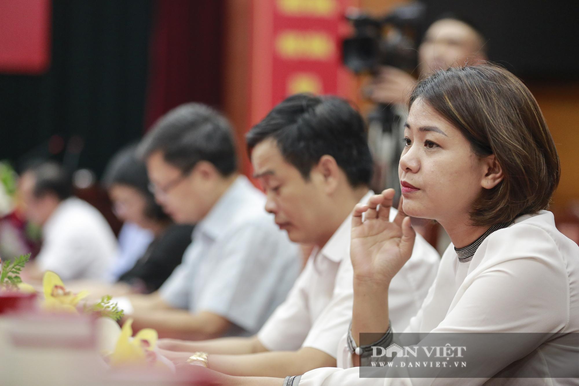 Toàn cảnh Họp báo kỷ niệm 90 năm Ngày thành lập Hội Nông dân Việt Nam - Ảnh 5.