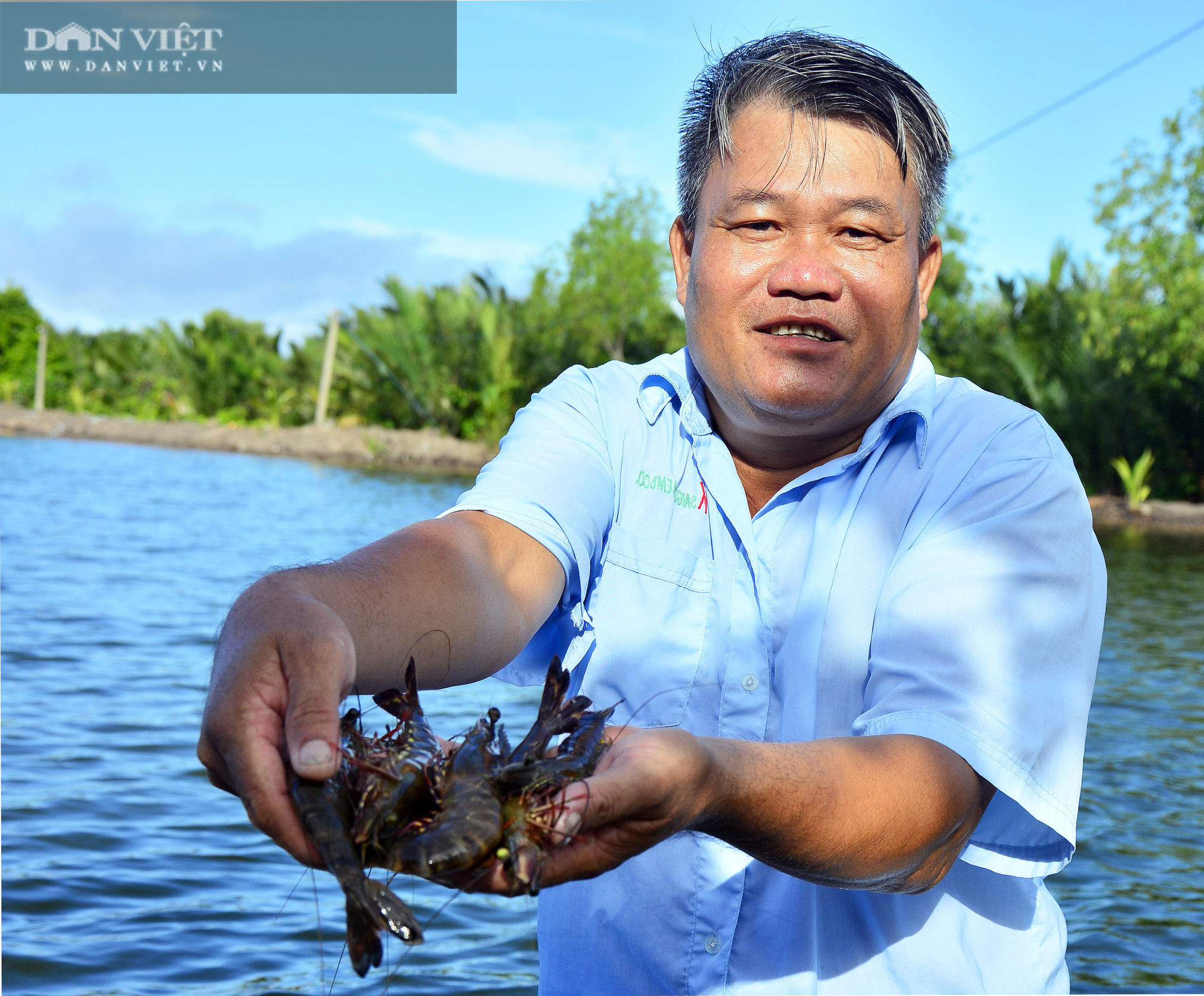 Kiên Giang: Nông dân đổi đời nhờ nuôi tôm cua kết hợp trên đất phèn mặn - Ảnh 2.
