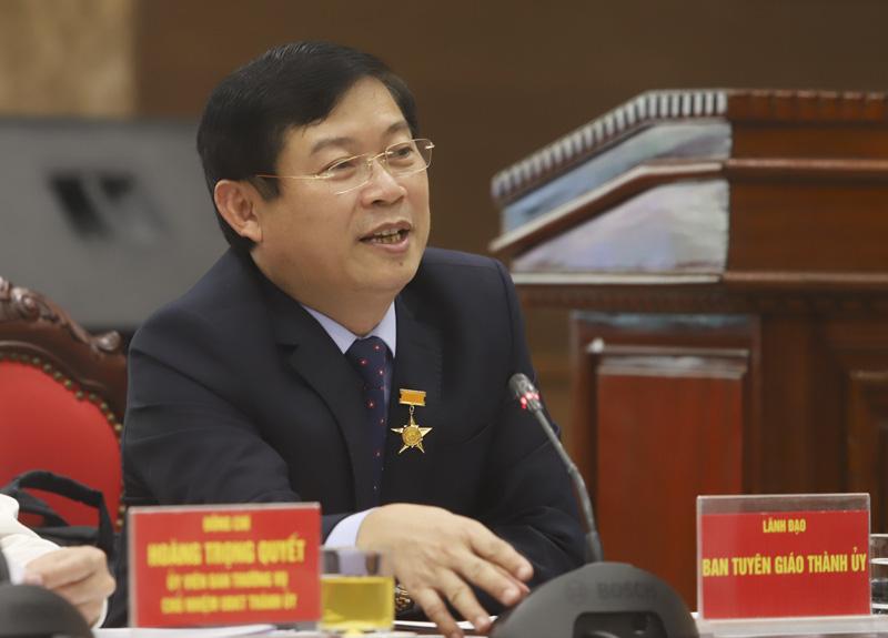 """Họp báo Đại hội Đảng bộ Hà Nội: """"Kiên quyết không đưa vào cấp ủy những người không đủ tiêu chuẩn"""" - Ảnh 1."""