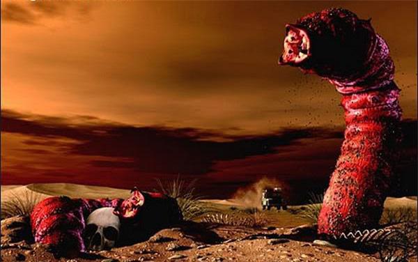 """Loài sâu """"tử thần"""" siêu to khổng lồ có thể giết chết người ngay lập tức mà không cần cắn - Ảnh 1."""