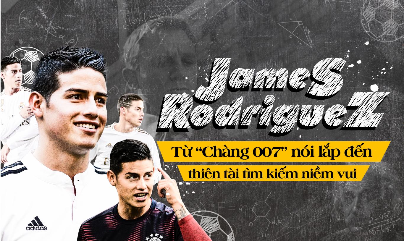 """James Rodriguez – Từ """"chàng 007"""" nói lắp đến kẻ thách thức Premier League - Ảnh 1."""
