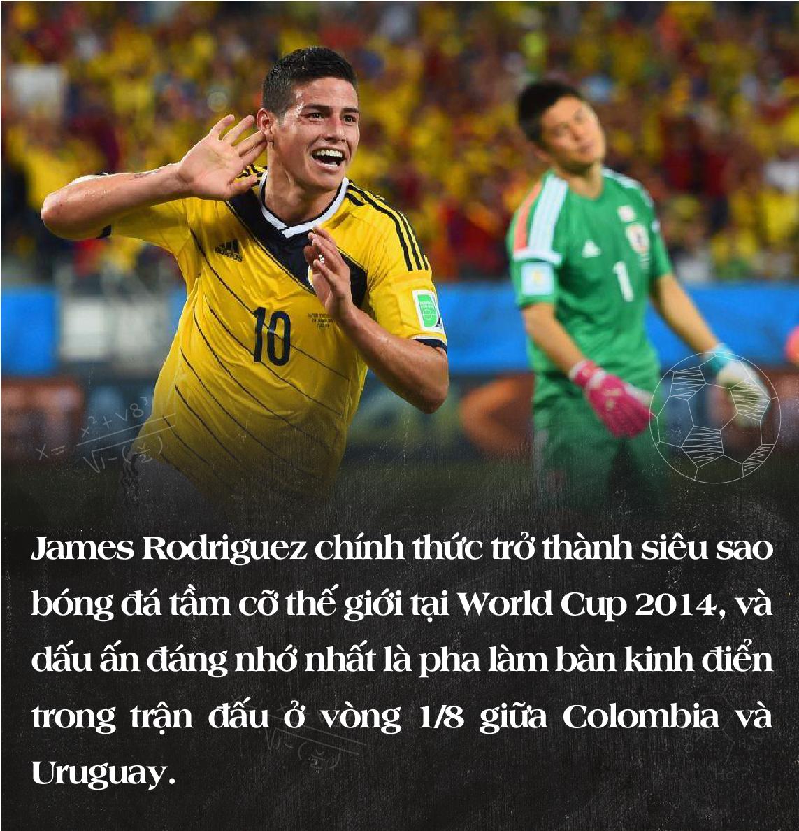 """James Rodriguez – Từ """"chàng 007"""" nói lắp đến kẻ thách thức Premier League - Ảnh 10."""