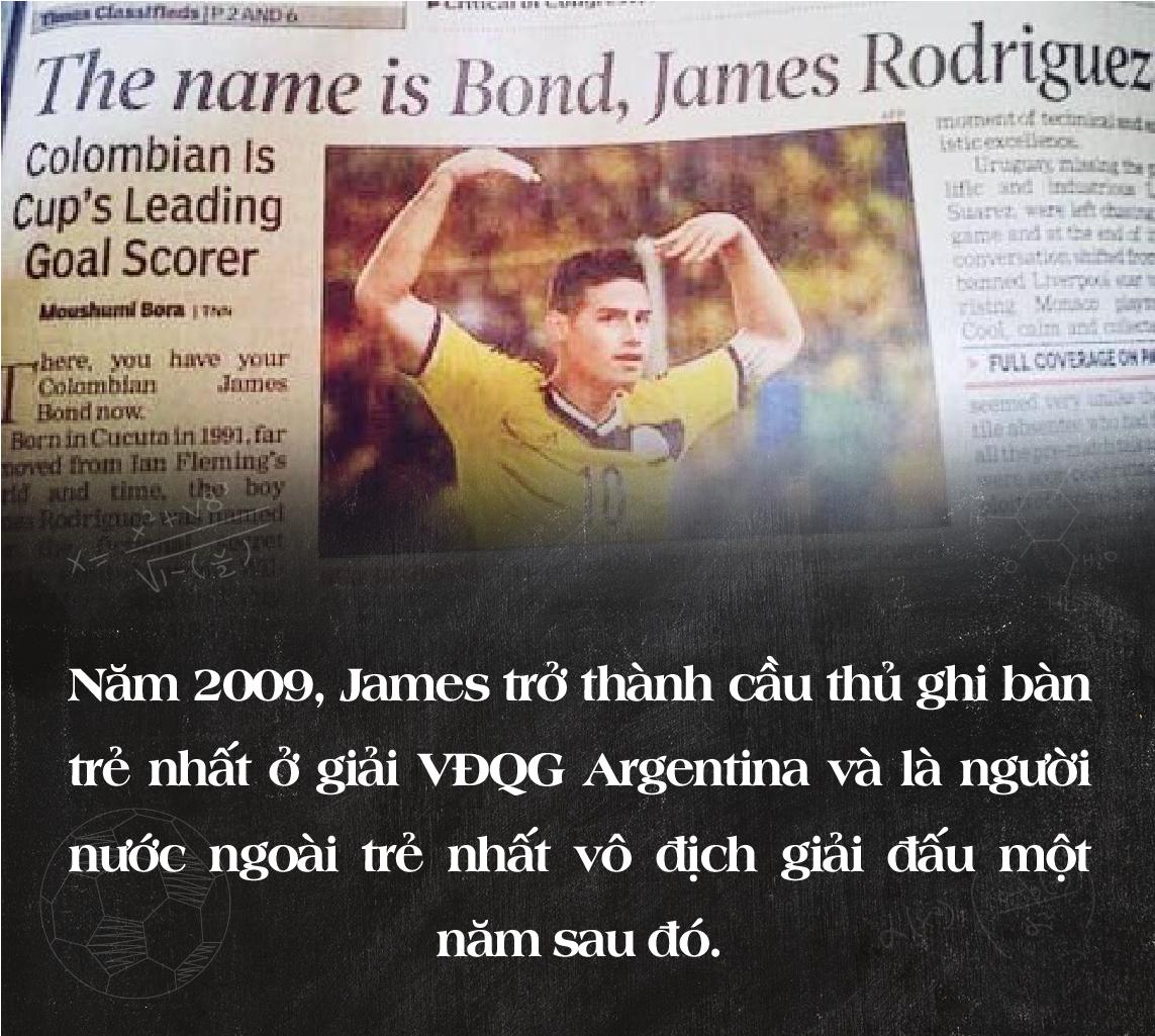 """James Rodriguez – Từ """"chàng 007"""" nói lắp đến kẻ thách thức Premier League - Ảnh 7."""