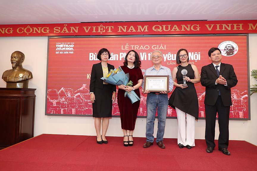 Được vinh danh tại giải thường Vì tình yêu Hà Nội, nhưng nhạc sĩ Phú Quang không thể đến nhận  - Ảnh 2.