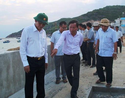 """Bình Định: """"Chạy đua""""… xây dựng kè biển 99 tỷ đồng bảo vệ cả làng chài - Ảnh 6."""