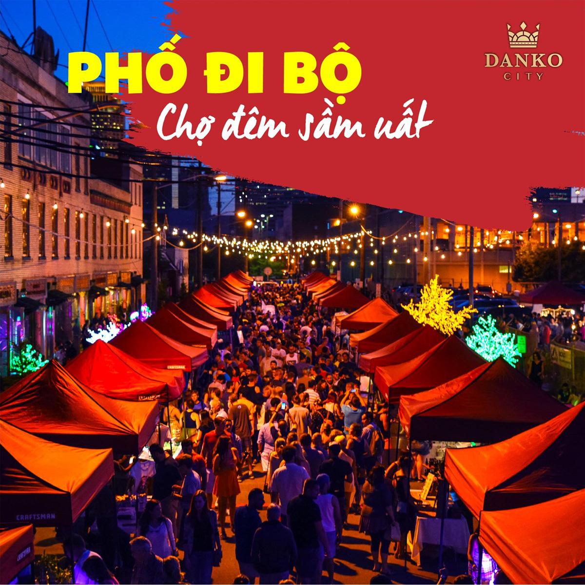 Danko Square - Không gian hội chợ châu Âu ngay tại Việt Nam - Ảnh 3.