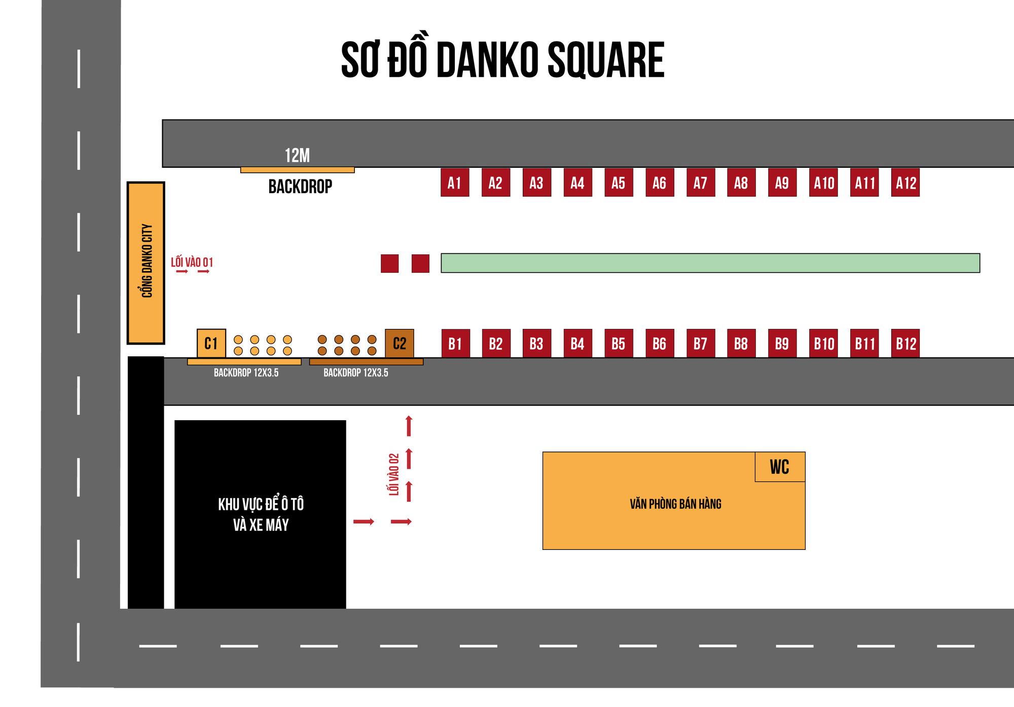 Danko Square - Không gian hội chợ châu Âu ngay tại Việt Nam - Ảnh 4.