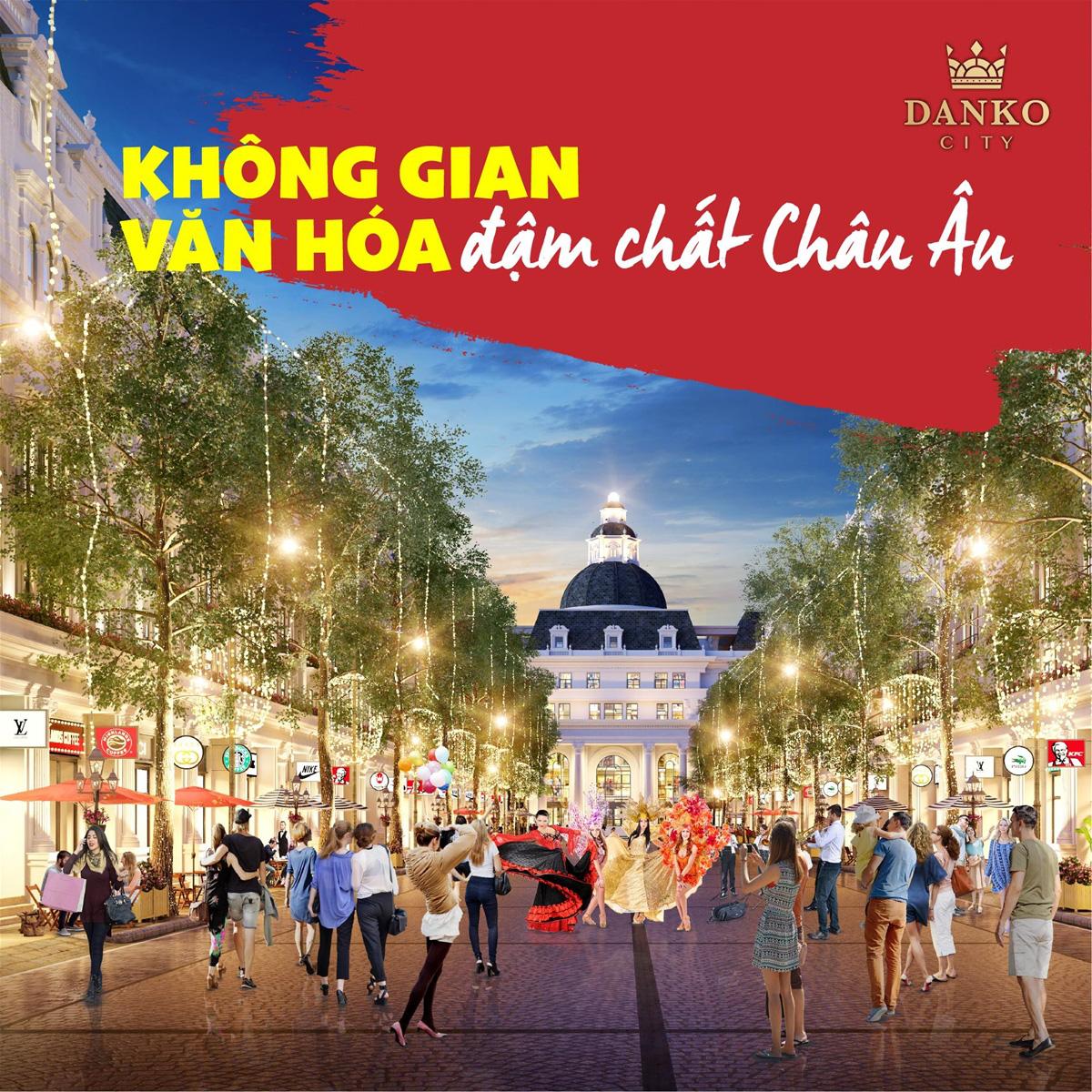 Danko Square - Không gian hội chợ châu Âu ngay tại Việt Nam - Ảnh 7.