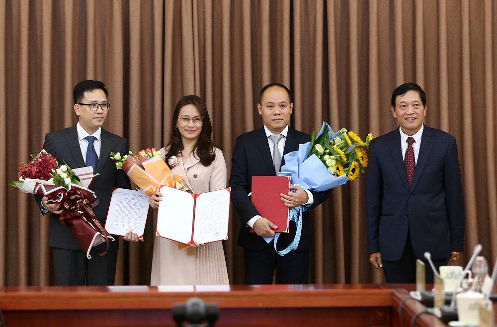 Bộ Khoa học và Công nghệ bổ nhiệm nhiều nhân sự cấp cao - Ảnh 1.