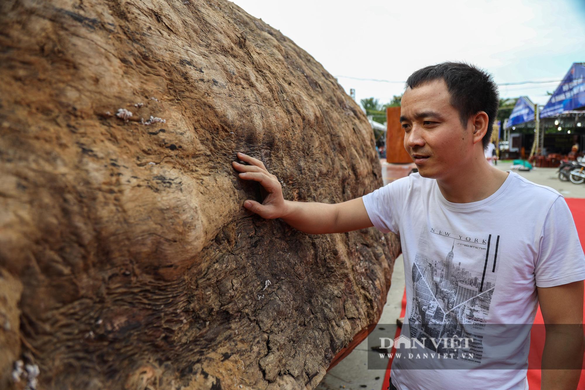 Ngỡ ngàng khúc gỗ 10 tỷ đồng ở hội chợ đồ gỗ Hà Nội - Ảnh 7.