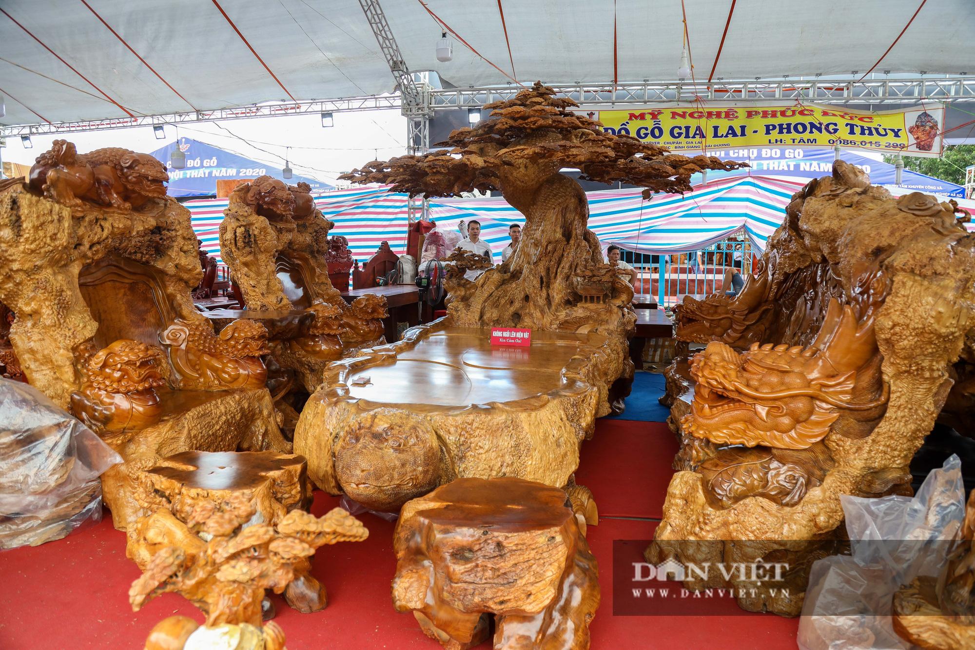 Ngỡ ngàng khúc gỗ 10 tỷ đồng ở hội chợ đồ gỗ Hà Nội - Ảnh 9.