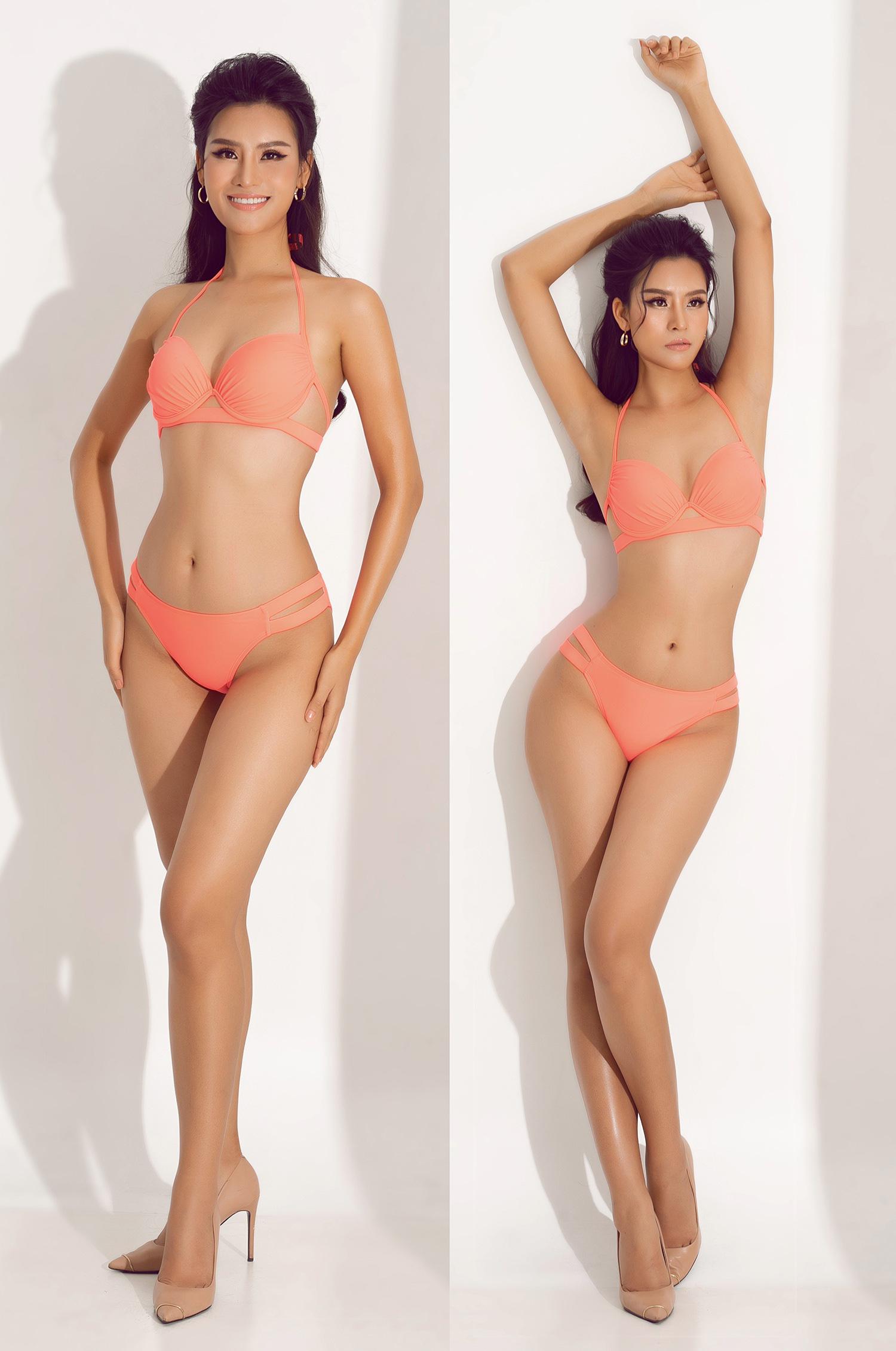 """Thái Thị Hoa nóng bỏng với bikini khoét hông táo bạo """"đốt mắt"""" trước thềm Hoa hậu Trái đất 2020 - Ảnh 4."""