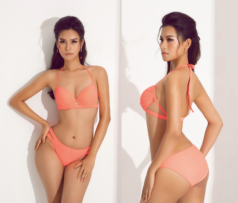 """Thái Thị Hoa nóng bỏng với bikini khoét hông táo bạo """"đốt mắt"""" trước thềm Hoa hậu Trái đất 2020 - Ảnh 2."""