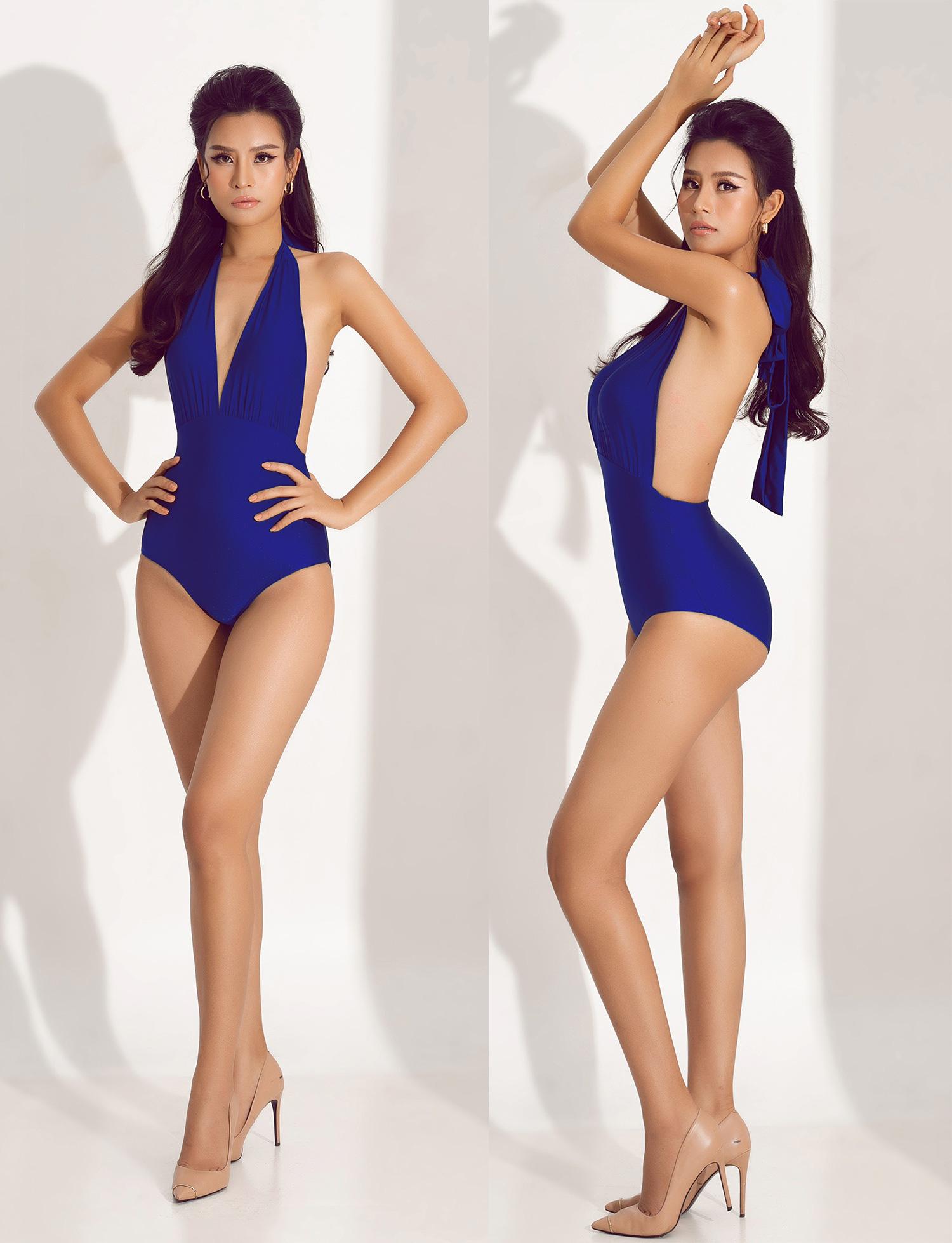 """Thái Thị Hoa nóng bỏng với bikini khoét hông táo bạo """"đốt mắt"""" trước thềm Hoa hậu Trái đất 2020 - Ảnh 6."""