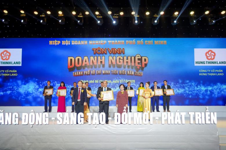 Tập đoàn Hưng Thịnh thắng lớn với loạt giải thưởng Doanh nghiệp, Doanh nhân TP.HCM tiêu biểu năm 2020 - Ảnh 3.