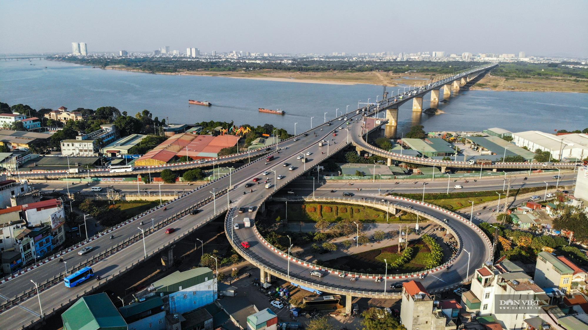 Những cây cầu làm thay đổi diện mạo Thủ đô trong những năm qua - Ảnh 11.