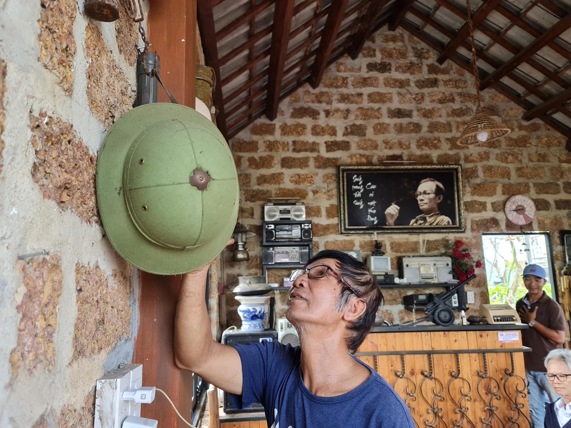 Quảng Nam: Nhứt mắt với quán cà phê bằng đá ong và toàn đồ bỏ đi - Ảnh 20.
