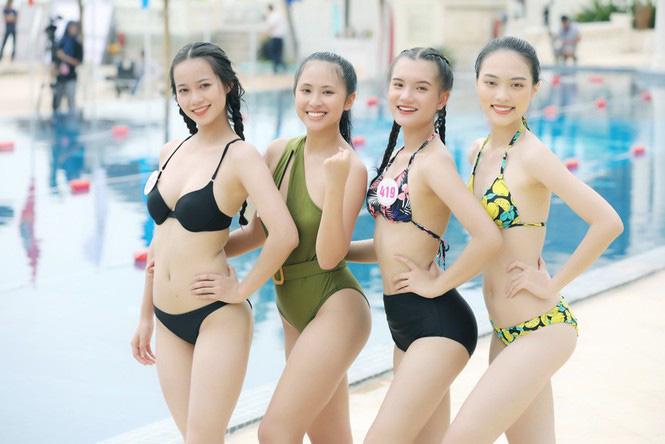 """Mỹ nhân xứng danh """"kình ngư"""" Hoa hậu Việt Nam 2020: 10 huy chương bơi lội, dáng gợi cảm hút mắt  - Ảnh 4."""