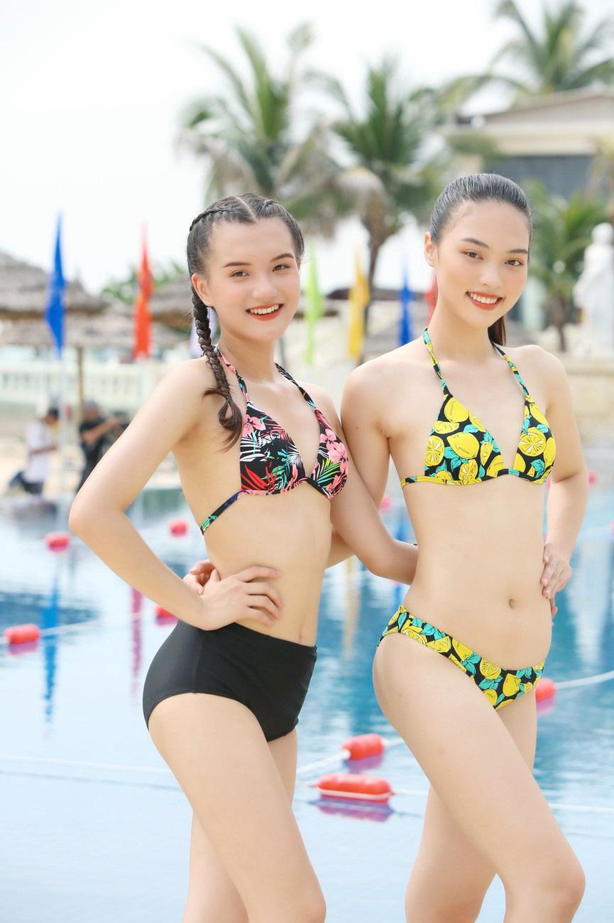 """Mỹ nhân xứng danh """"kình ngư"""" Hoa hậu Việt Nam 2020: 10 huy chương bơi lội, dáng gợi cảm hút mắt  - Ảnh 3."""