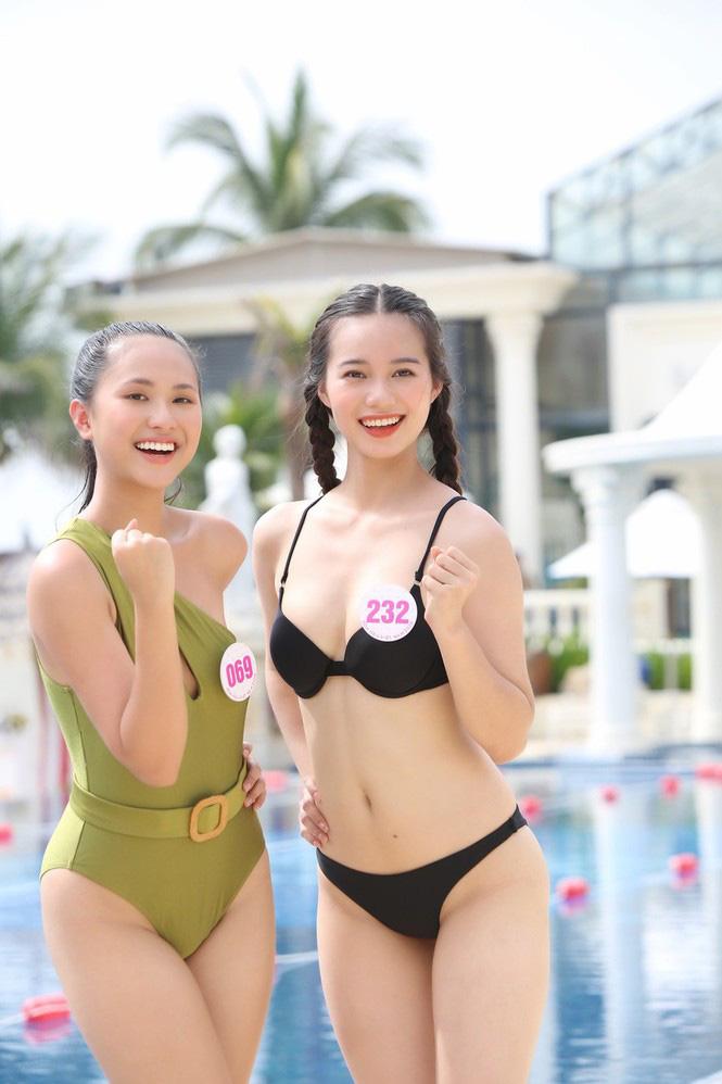"""Mỹ nhân xứng danh """"kình ngư"""" Hoa hậu Việt Nam 2020: 10 huy chương bơi lội, dáng gợi cảm hút mắt  - Ảnh 6."""