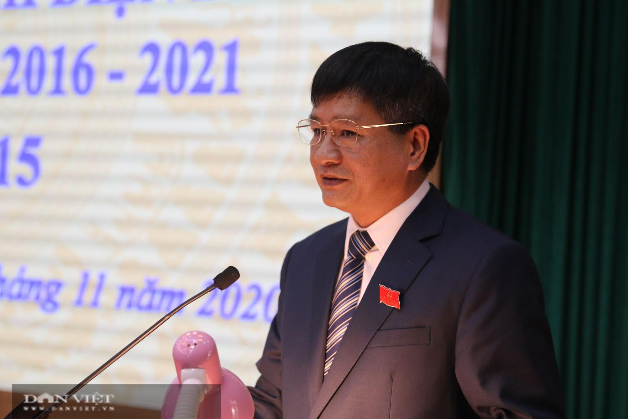 Điện Biên: Ông Lê Thành Đô, được bầu giữ chức Chủ tịch UBND tỉnh - Ảnh 1.