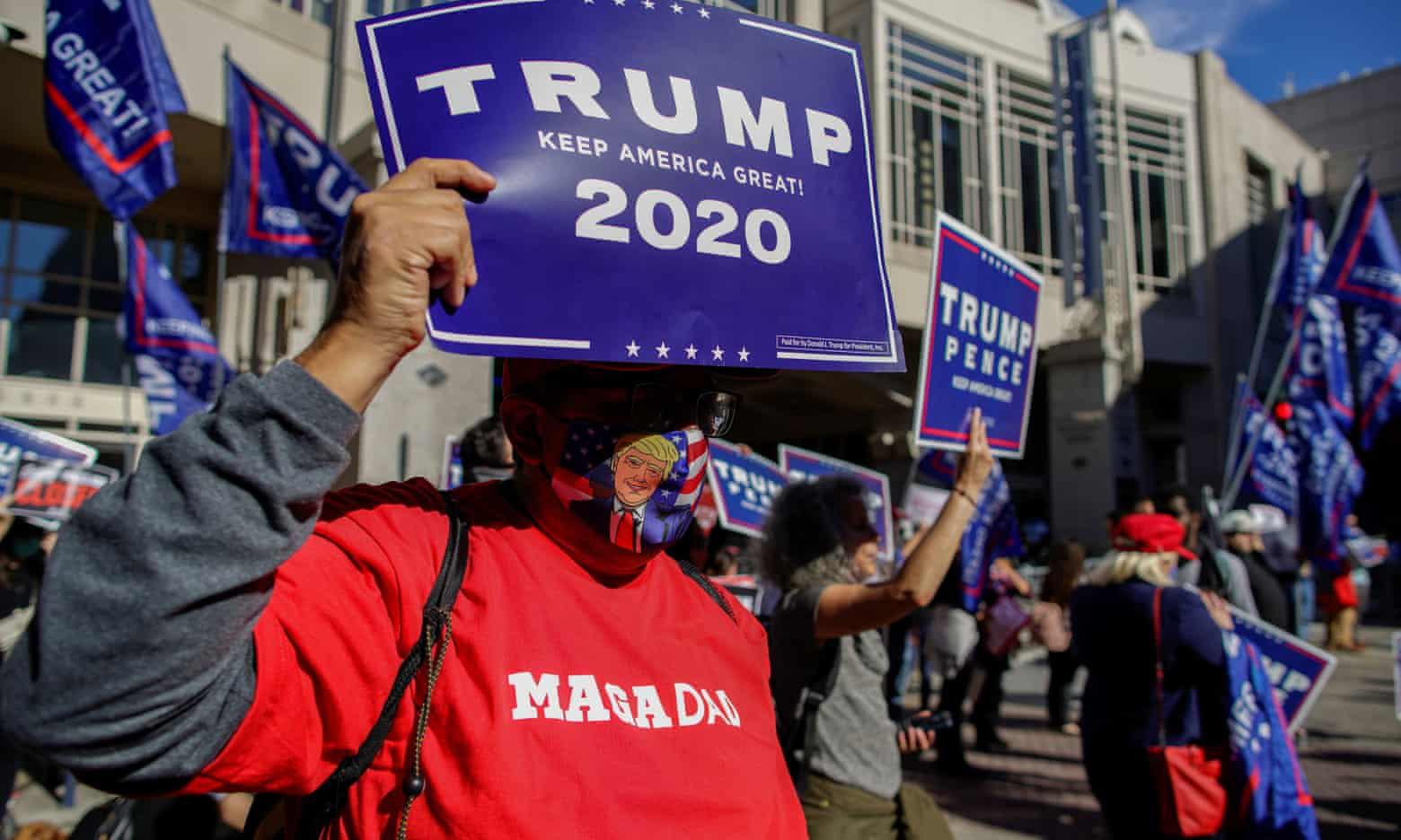 """Tổng thống Mỹ Donald Trump cam kết sẽ công bố dữ liệu """"gây sốc"""" về việc bỏ phiếu ở Nevada - Ảnh 1."""