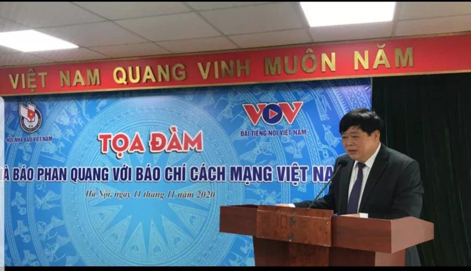 Nhà báo Phan Quang - tấm gương lao động không ngừng nghỉ - Ảnh 3.