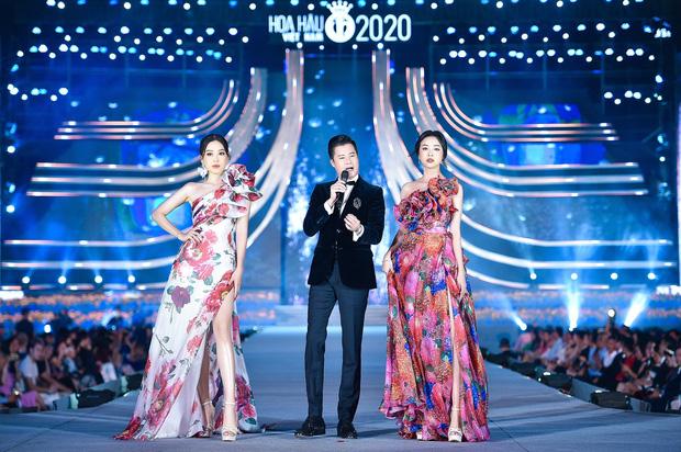 """Lương Thùy Linh suýt """"lộ hàng"""" trên sân khấu vì góc máy hiểm hóc từ khán giả - Ảnh 1."""