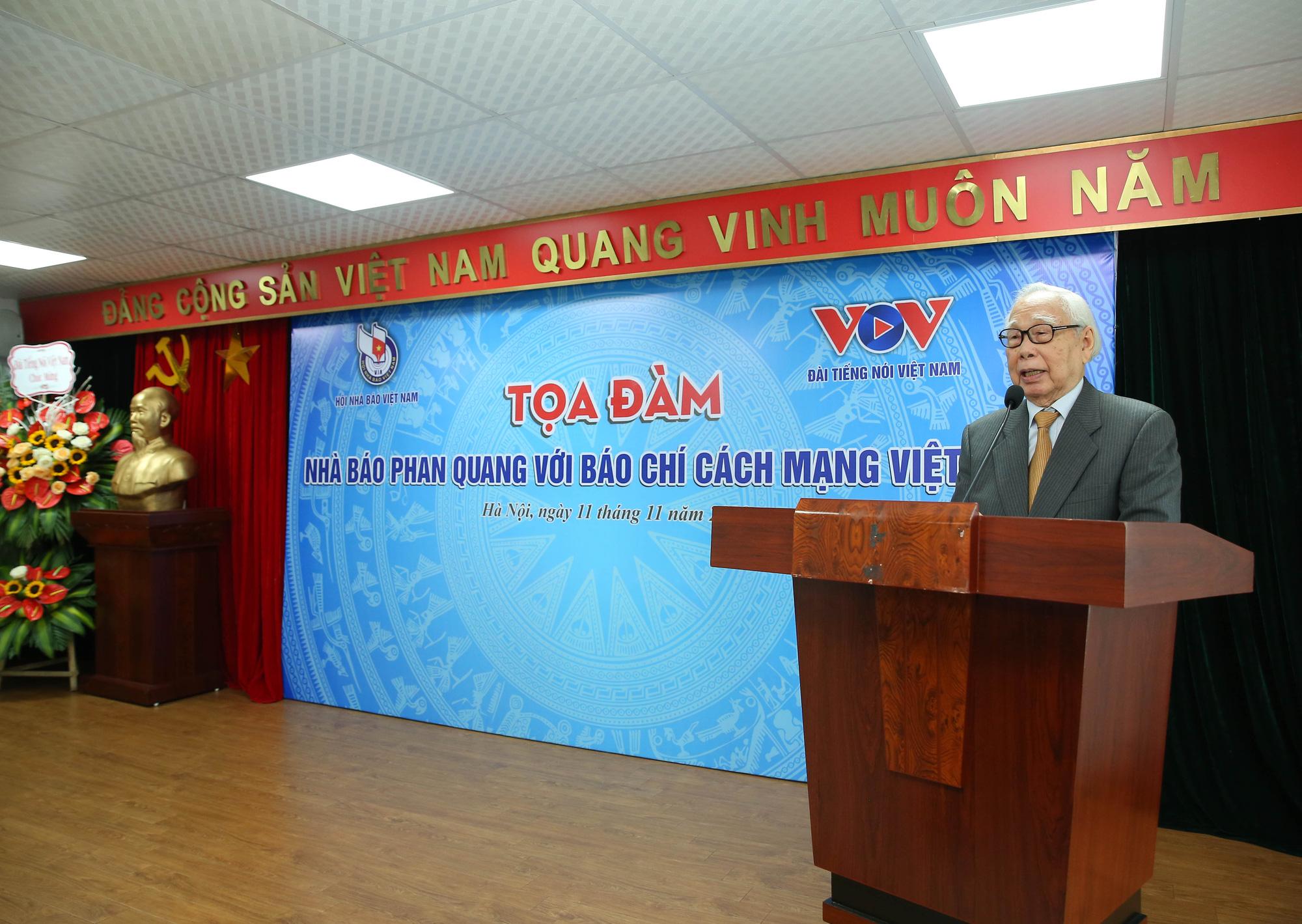 Nhà báo Phan Quang - tấm gương lao động không ngừng nghỉ - Ảnh 5.