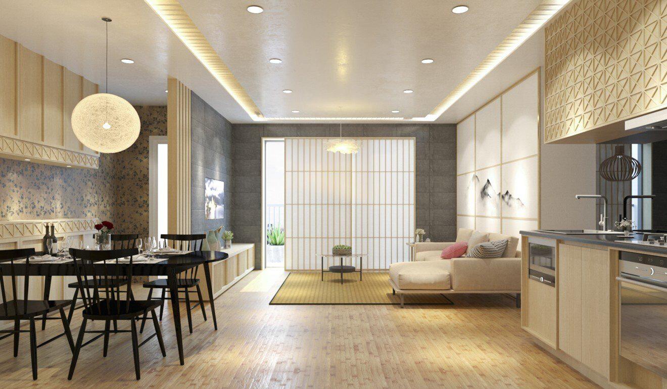 Bên trong căn hộ 129.000 USD tại dự án The Minato Residence (Hải Phòng)