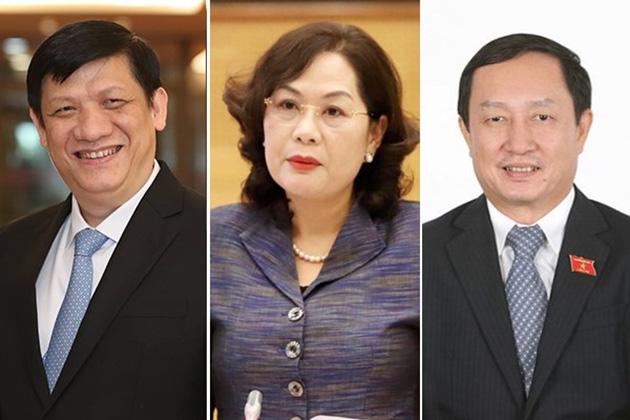 3 tân Bộ trưởng, Trưởng ngành dự phiên họp đầu tiên của Chính phủ trên cương vị mới - Ảnh 1.