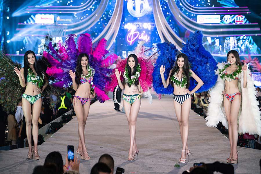 Lộ diện Top 5 Người đẹp biển Hoa hậu Việt Nam 2020  - Ảnh 1.