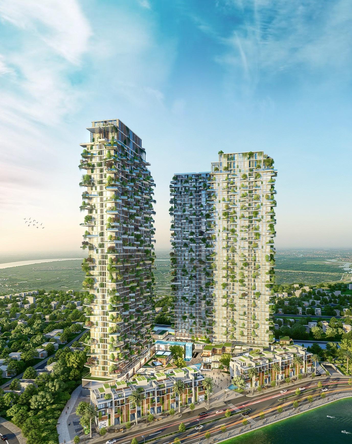 Tạp chí danh tiếng của Mỹ dành vị trí nối bật trang chủ viết về tòa tháp xanh cao nhất của Việt Nam - Ảnh 4.