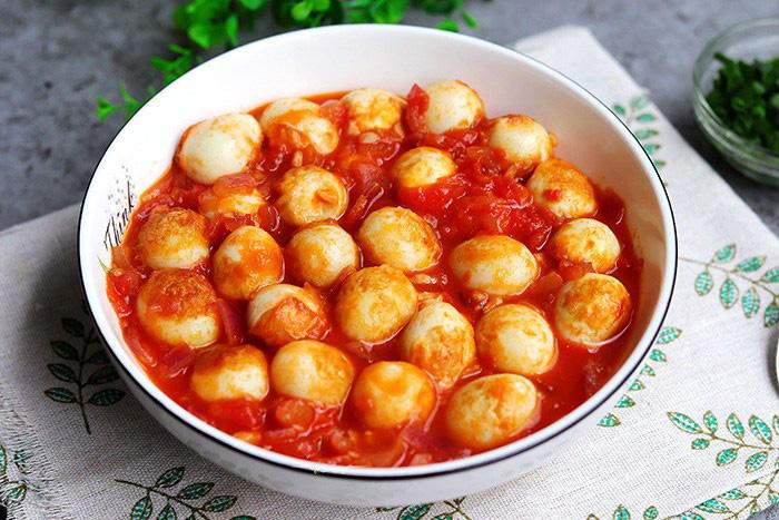 Trứng chim cút sốt cà chua, món ngon đảm bảo bạn chưa thử - Ảnh 8.