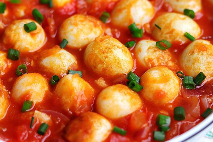 Trứng chim cút sốt cà chua, món ngon đảm bảo bạn chưa thử - Ảnh 11.