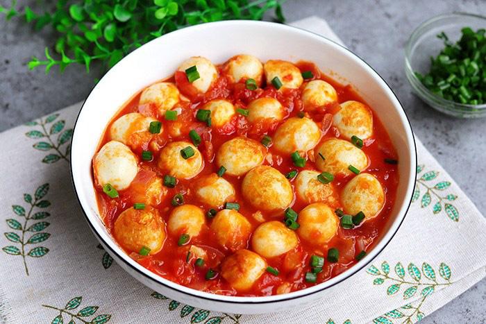 Trứng chim cút sốt cà chua, món ngon đảm bảo bạn chưa thử - Ảnh 9.