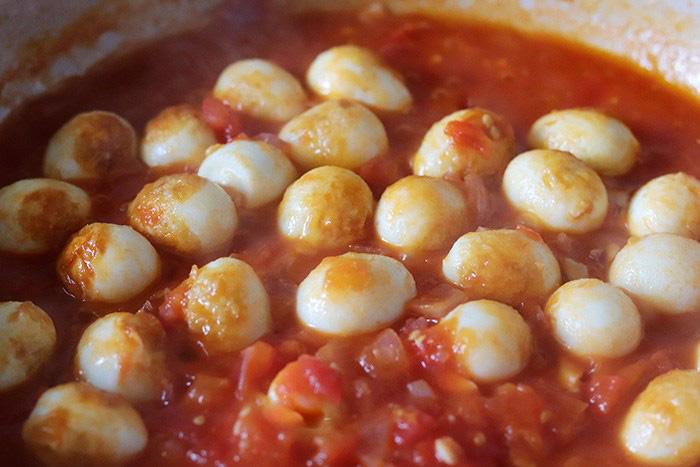 Trứng chim cút sốt cà chua, món ngon đảm bảo bạn chưa thử - Ảnh 7.