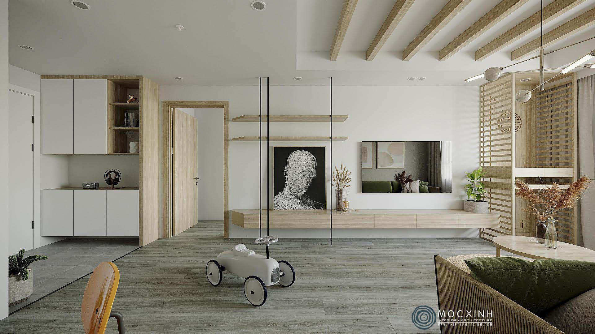 Những ý tưởng độc đáo cho thiết kế nội thất căn hộ chung cư hiện đại đẹp nhất - Ảnh 3.